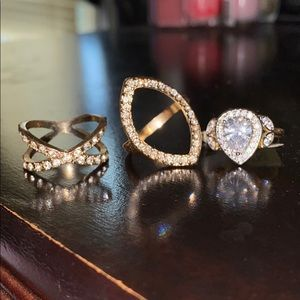 Jewelry - Mix n match rings